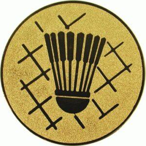 Emblemat badmington www.tanietrofea.pl
