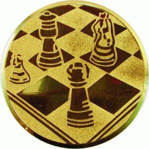 Emblemat szachy www.tanietrofea.pl