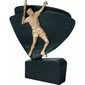 statuetka czarna trofeum tenis ziemny