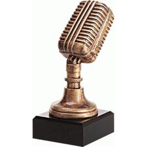 statuetka muzyka mikrofon