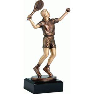 statuetka tenis ziemny tenisista trofea