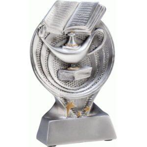 statuetki srebrna edukacja szkolnictwo lampa