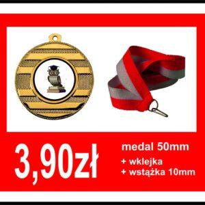 Medal sowa dla dzieci