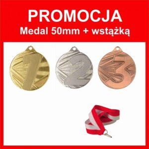 medal 1 2 3 50mm + wstążka tanietrofea.pl