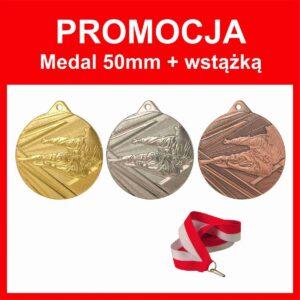 Medal 50mm karate + wstązka tanietrofea.pl