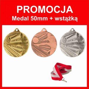 promocja medal 50mm piłka nożna tanietrofea.pl