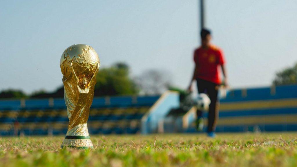 Oferta promocyjna na trofea sportowe, puchar świata